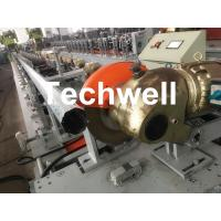 Quality 0.4-1.2mm Octagonal Tube Pipe Roll Forming Machine Equipment With Guiding Column And Slide Blocks Forming Structure wholesale