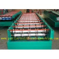 Quality Automatic Glazed Tile Steel Roof Sheet Roll Forming Machine With PLC Control System wholesale