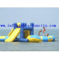 Quality Small Fire Retardant Inflatable Water Slides , Inflatable Slides Inflatable Water Games wholesale