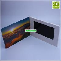 Quality 7 inch LCD Screen Video Talking Greeting Card with 256MB Memory and Customized Artwork Printing wholesale