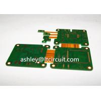 Quality Multilayer Mix Rigid Flexible PCB L2-18 Gold Plating Blind / Burried Vias wholesale