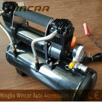 Cheap Double 30mm Cyclinder 12V Portable Air Compressor 8 Bar Max Pressure for sale