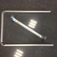 Custom Small Radius Aluminum Bending Profiles with Silver Anodized for sale