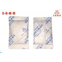 Quality MDH-30 Drying Desiccant Packs , 30g Bentonite Clay Desiccant For Garment And Textile wholesale