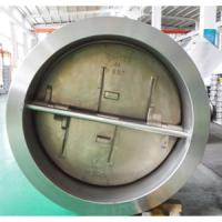 China API 594 30 Inch Double Disc Check Valve A890 4A 150# DN750 Integral Seat on sale