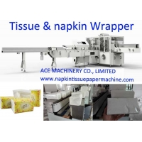 China 80 Bag / Min Interleaved Facial Tissue Packing Machine on sale