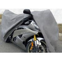 "Quality 3 Layer Material Waterproof Outdoor Motorcycle Cover 96"" L x 44"" W ( at wheelbase ) x 44"" H wholesale"