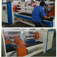 Quality PVC Electric Insulation 250mm 1800kg Tape Roll Cutting Machine wholesale