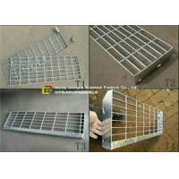 Quality Removable Galvanized Steel Stairs, Non Slip Stainless Steel Stair Treads wholesale