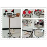 Quality CE Approved Stainless Steel Floor Laboratory Fittings Emergency Eyewash Station wholesale