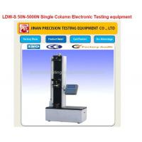 Quality LDW-S 50N-5000N Single Column Electronic Testing equipment wholesale