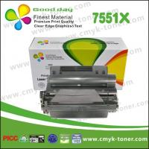 China Black Q7551X Toner Cartridge compatible with  HP LaserJet - P3005 on sale