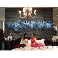 Quality Thermoform Composite PVC Wall Stencil 3D Wallpaper for Living Room / Office / Club wholesale