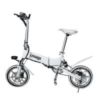 Quality Drop Shipping Double Suspension Foldable Electric Bike Aluminum Material wholesale
