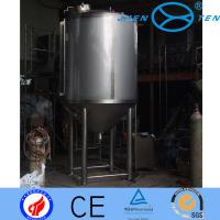 Quality Hygienic Stainless Fermentation Tank Three Layer With Coil Jacket wholesale