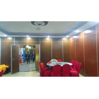 Quality Manual System Laminated Board Sound Proof Partitions For Ballroom wholesale