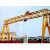 Buy cheap MH type single girder hoist gantry crane 20 ton from wholesalers