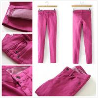 Buy cheap Brand Gap women skinny jeans slim legging color rose size cheap  fashion low-rise trousers inventory stock for sale from wholesalers