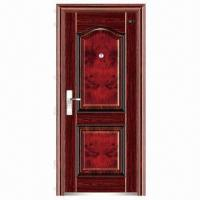 China Steel entry door, security using, multi-point lock system on sale