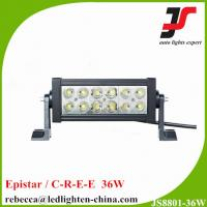 China HOT SALE ! 7.5 Epistar 36W flood spot beam double row led light bar for cars on sale