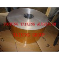 China lacquered aluminium foil for pet food trays on sale