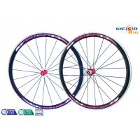 Cheap Glossy Surface Alloy 6061 T6 Aluminum Bicycle Wheels , 12 Inch to 22 Inch for sale
