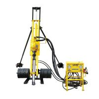 China Portable Pneumatic Rock Drilling Rig DTH Drilling Equipment 0 - 80 Rpm Rotation Speed on sale