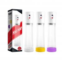Quality Male Penis Vacuum Enlargement Pump Exercises With USB Rechargeable wholesale