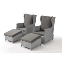 Buy cheap PE Rattan Outdoor Leisure Chairs Set For Gardern Relaxing Time from wholesalers