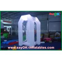 Quality 1.5mLX2mWX 2.5mH Inflatable Money Booth With Oxford Cloth For Event wholesale