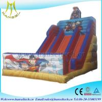 Quality Hansel 2017 hot selling PVC outdoor inflatable play area blow up snake wholesale
