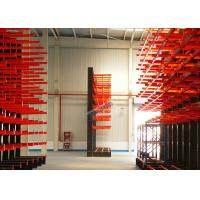 Cheap 1200 Kg Load Capacity Cantilever Storage Racks Roll - Formed H Beam With 700mm Arm for sale