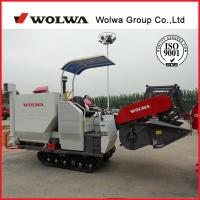 Quality Factory Price W4SD-2.0 Rice Combine Harvester Wheel Self-propelled mini rice harvester wholesale