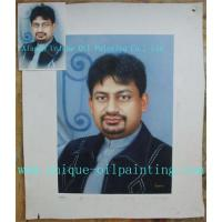 China Portrait oil painting from photo on sale