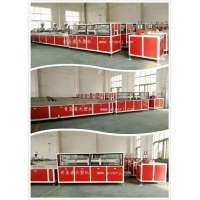 China 250kg/H 136kw Artificial Marble Pvc Profile Production Line on sale