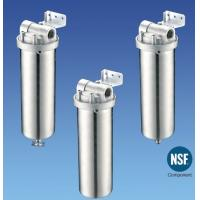 Quality Drinking Water Filter Cartridge Housing Stainless Steel , High Pressure wholesale
