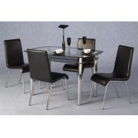 China modern design rectangle dining table and chairs xydt-002&xydc-238 on sale