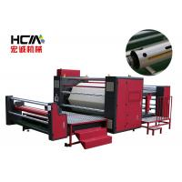Quality Semi Automatic Rotary Heat Press Machine For Roller Fabric 220V / 380V wholesale