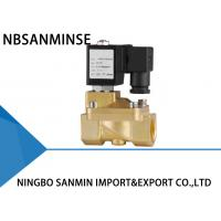 Quality Custom PM 2 / 2 Way Brass Solenoid Valve , Latching Solenoid Valve For Gas wholesale