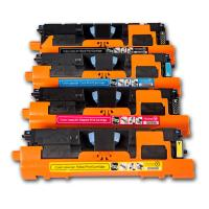 China Replacement for HP 122A Q3960A Q3961A Q3962A Q3963A Colour Toner Cartridges on sale