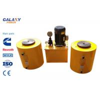 Quality Double Acting Small Hydraulic Cylinder Central Solid Hydraulic Jack Hollow Plunger wholesale