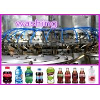 China 380V 50HZ Carbonated Drink Soda Water / Cola / Soft Drink Filling Machine on sale