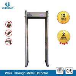 Quality 4.3 Inch Door Frame Metal Detector , 18 Zones Basic Walk Through Metal Detector wholesale