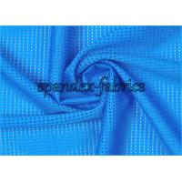 Quality Flexiable Raindrop Hole Mesh Swimwear Fabric Smooth Soft Breathable wholesale