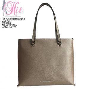 Quality Eco Friendly PU Handbag/Golden colour Lady Shoulder Bag Fashion/Formal Handbags for Women wholesale