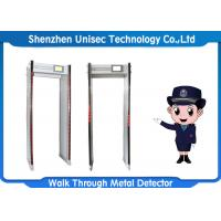 Quality 33 Zones Door Frame Metal Detector Waterproof Material ODM / OEM Approved wholesale