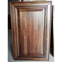 Quality Luxury black walnut solid wood kitchen cabinet door ,walnut raised kitchen cabinet door wholesale