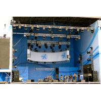 Portable 10x10 Pop Up Exhibition Hall Tradeshow Floor Aluminium Profile Truss System Display Booth For Fashion Show