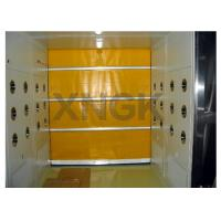 Quality PVC Curtain Rolling Door Clean Room Air Showers 316 Ss Frame Material wholesale