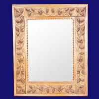 Quality 4036 Square Pattern Accent Home Wall Decor Mirror Frame wholesale